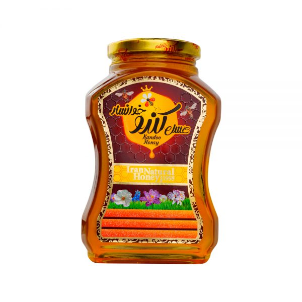 عسل ۱۱۰۰ گرمی چند گیاه کندو