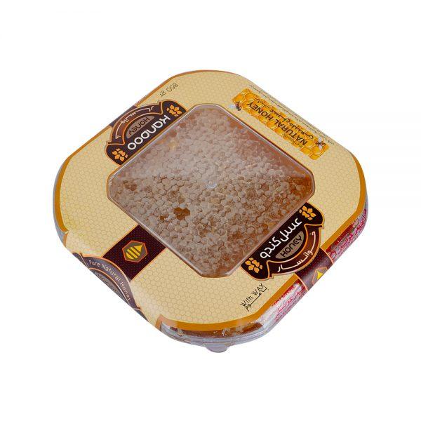 عسل موم 850 گرمی چندگیاه کندو